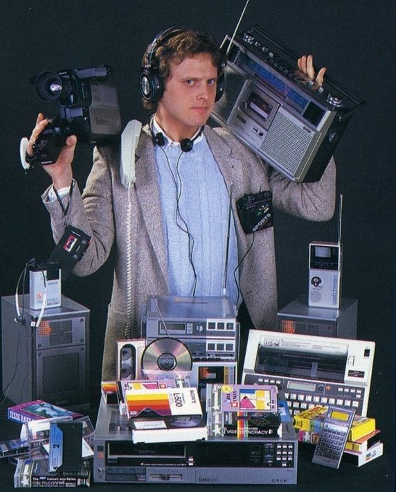 All of these items were replaced with smartphones!