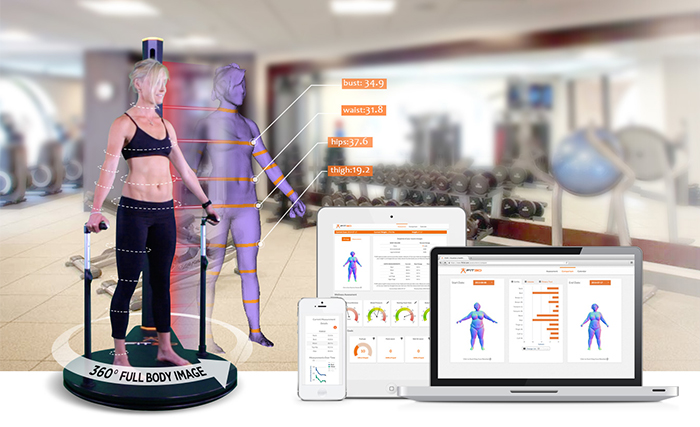 Full-body physical health scanner!