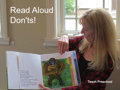 Read-aloud-donts
