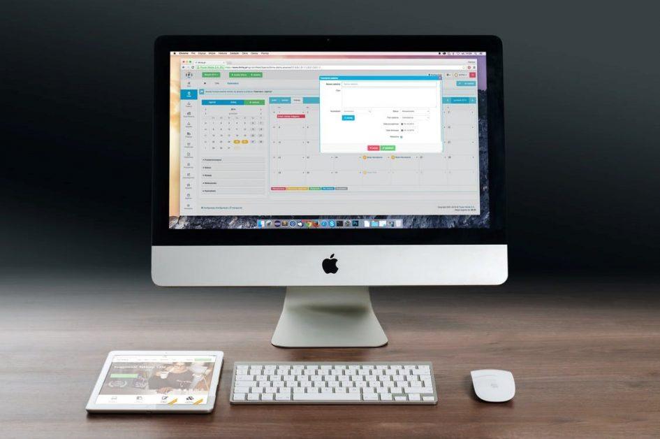 desktop application running
