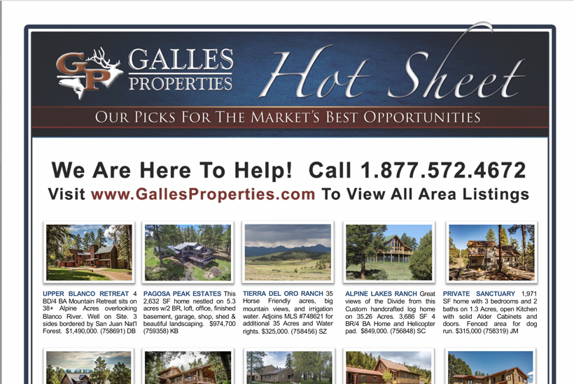 Galles Properties Hot List