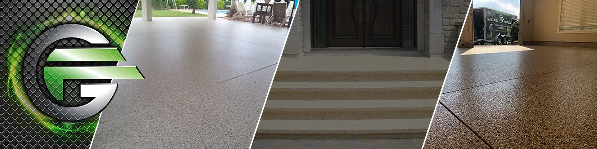Full Chip Concrete Coating - Protect Your Cement Flooring