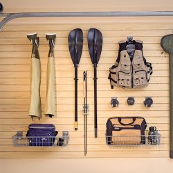 Garage shelving and racking to store sporting equipment San Francisco