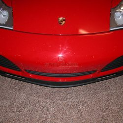 Epoxy floor coating for car showroom