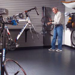 Sporting equipment storage garage San Francisco