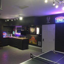 Man cave game room garage space San Francisco