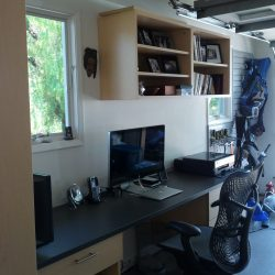 Custom garage office and storage solutions San Francisco