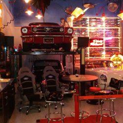 Custom garage space car show room and man cave San Francisco