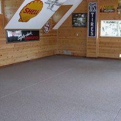 Epoxy flooring garage coating San Francisco