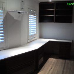 Luxury wooden garage workstation space San Francisco