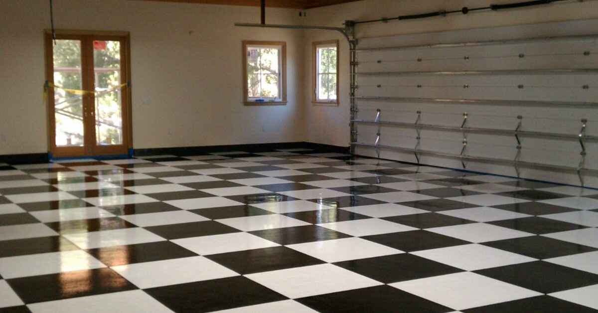 An image of Garage Solutions' epoxy floor coatings in San Francisco.