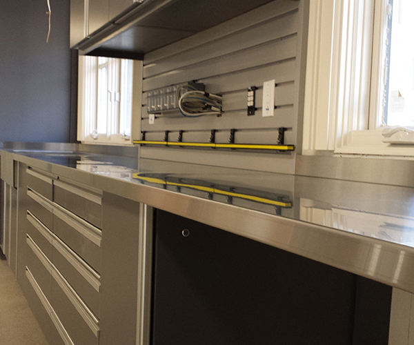 Image of a garage cabinets by Beautiful Garage.