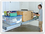 Get more storage for your space with our garage storage lift system.
