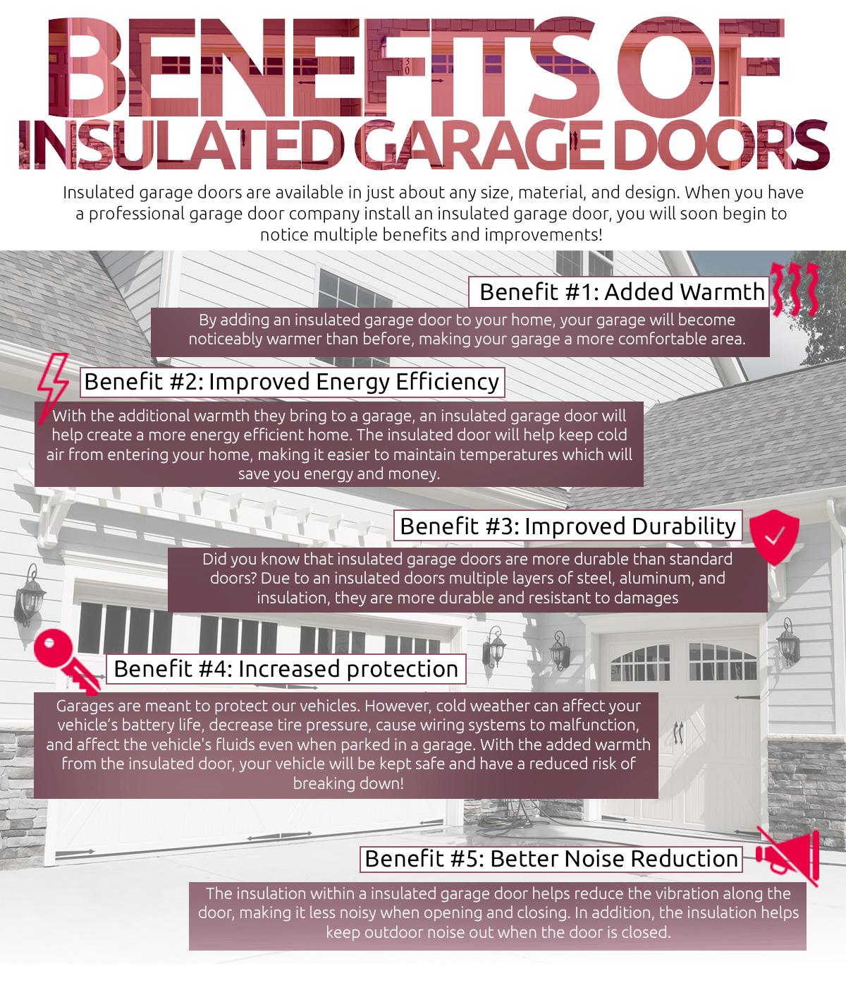 Garage Door Services Indianapolis Five Benefits Of An Insulated Garage