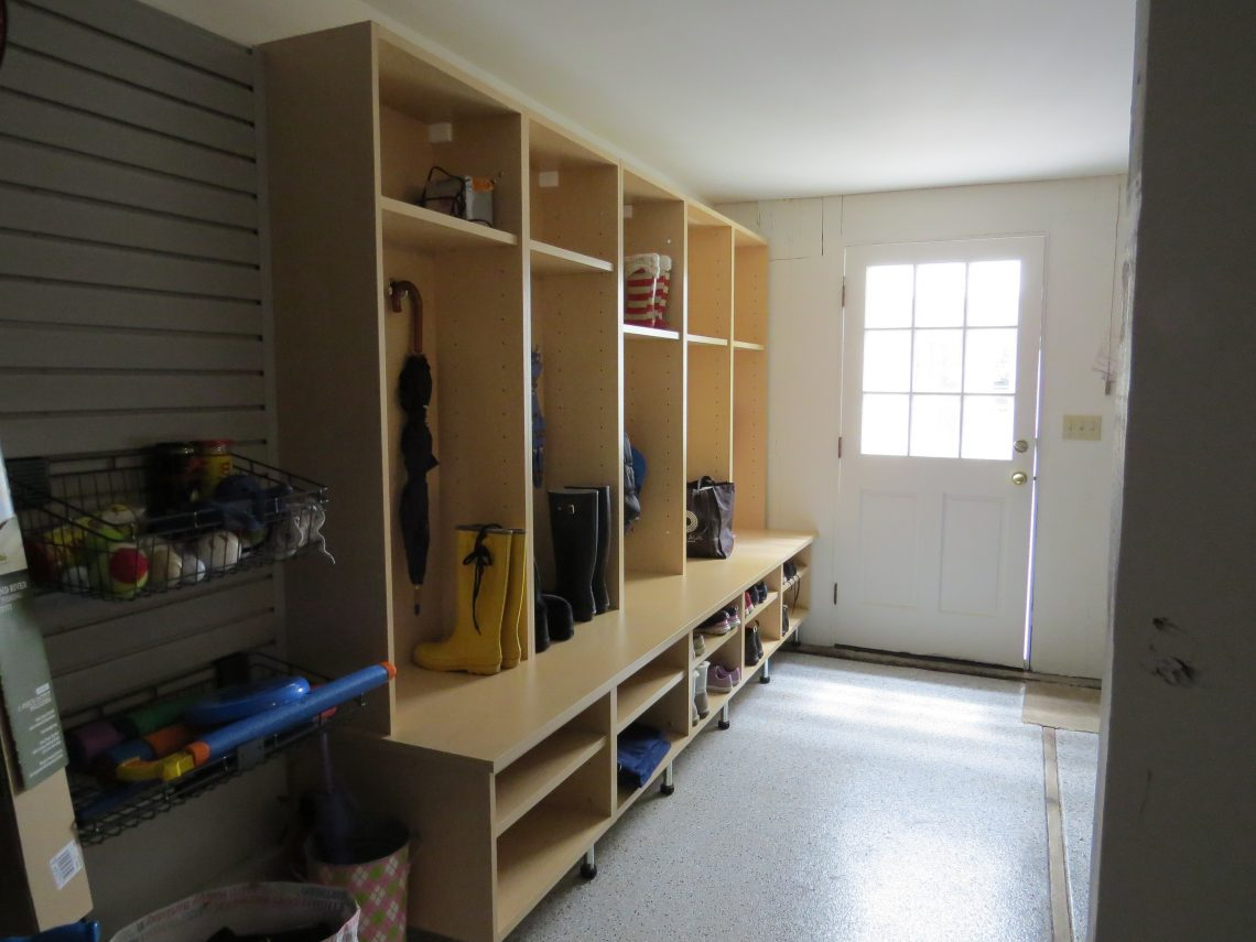 Rec Room Transform Your Garage With Cabinets Wall