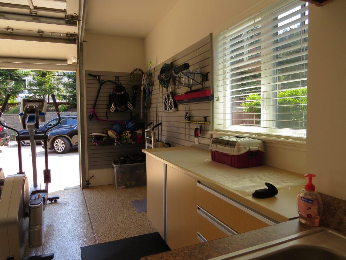 Hobbyist create an organized space where you can store