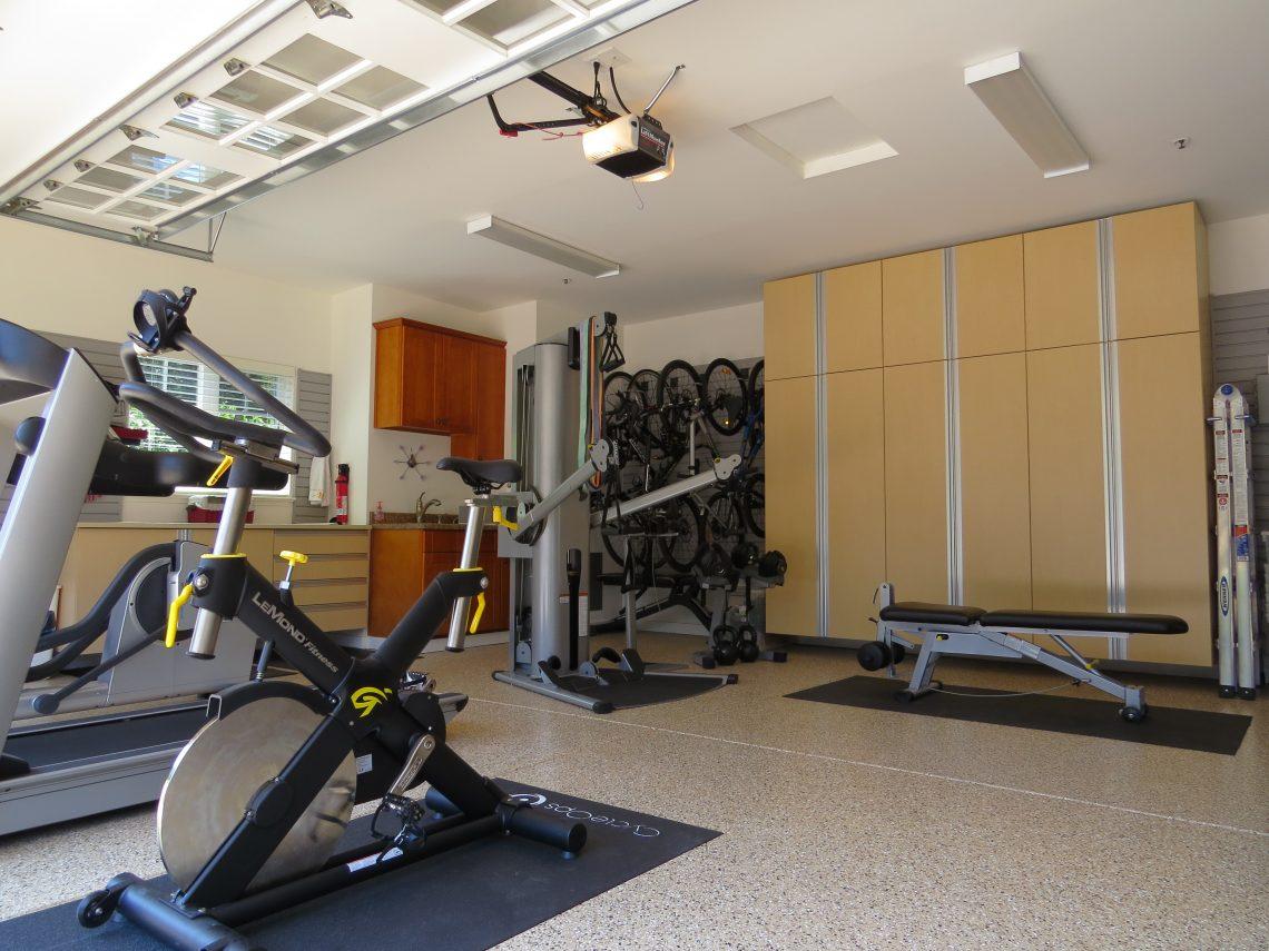 Bay Area Garage Organization Create A Home Gym
