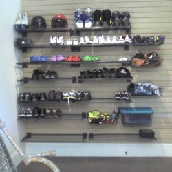 Garage racking and storage ideas for shoes San Francisco