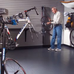 Sporting equipment storage garage San Francisco