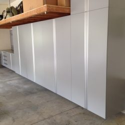 Garage storage cabinets and work station San Francisco
