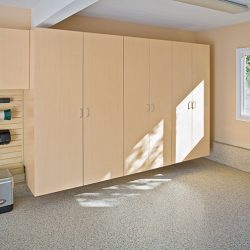 Wooden garage storage systems in San Francisco