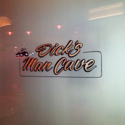 Man cave decal San Francisco