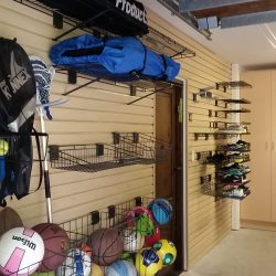Garage racking and storage shelves for sports equipment San Francisco