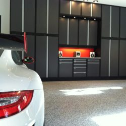 Metal garage workstation and storage cabinets San Francisco