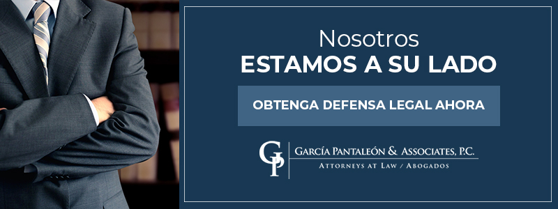 Spanish call to action for legal services.