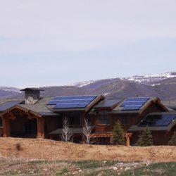 Residential solar panels installed in Park City, Utah - Gardner Energy
