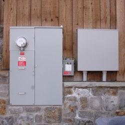 Control panel for residential solar array in Park City, Utah - Gardner Energy