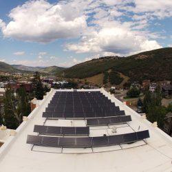 Commercial solar panels installed in Park City, Utah - Gardner Energy