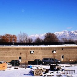 Hyrum City Public Works building with solar panels - Gardner Energy