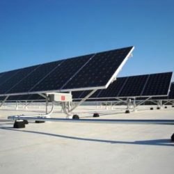 Rooftop at WSU Shepard Union building with commercial solar panels installed - Gardner Energy