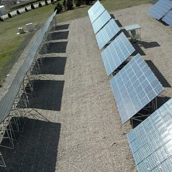 Field of solar panels at U.S. Hill Air Force Base - Gardner Energy