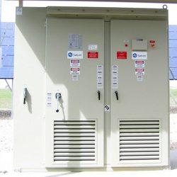 Control panel for commercial solar panels in Layton, Utah - Gardner Energy