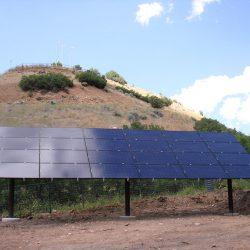 Solar panel grid in Morgan, Utah - Gardner Energy