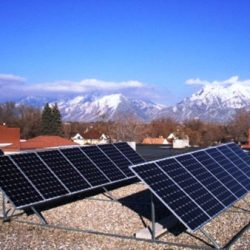 Commercial solar panels installed in Lehi, Utah - Gardner Energy
