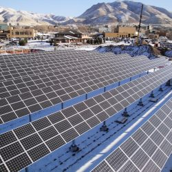 Large 863 kw commercial solar panel grid in Salt Lake City - Gardner Energy