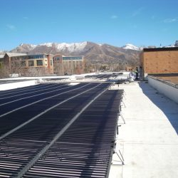 Framework for commercial solar panels in Salt Lake City - Gardner Energy
