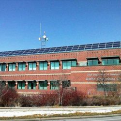 UDOT building with commercial solar panels installed - Gardner Energy