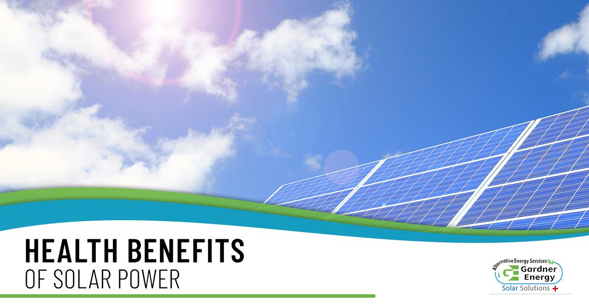 Alternative Energy Sources Salt Lake - Health Benefits Of