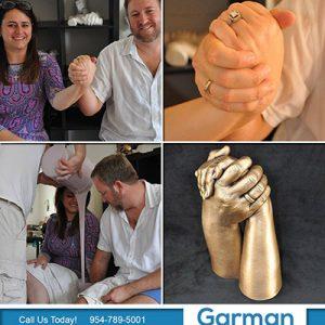 hand casting anniversary gift