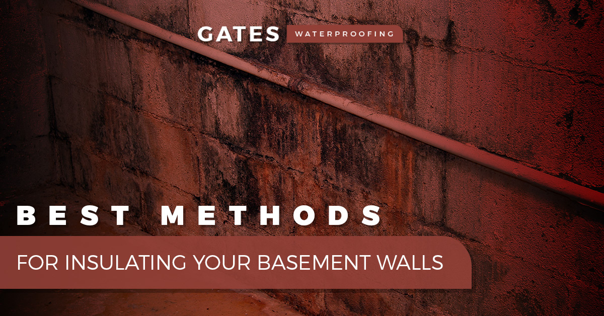Best Methods For Insulating Your Basement Walls  sc 1 st  Gates Waterproofing & House Insulation St. Elmo: Best Methods For Insulating Your Basement ...