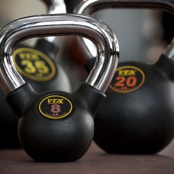 Kettlebells at our fitness center - Gateway Place Apartments