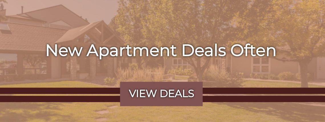 New Apartment Deals Often - View Deals