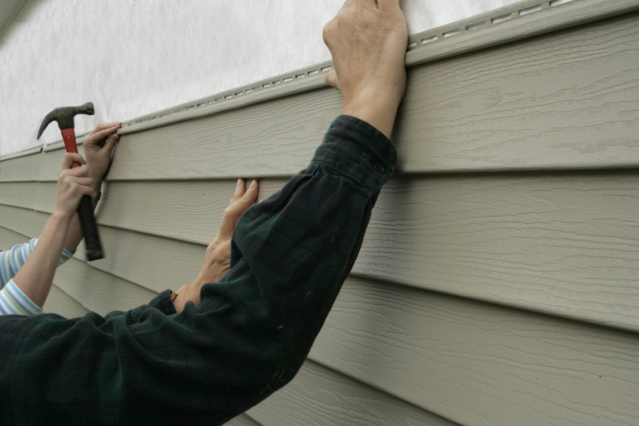 Install insulated siding in your home