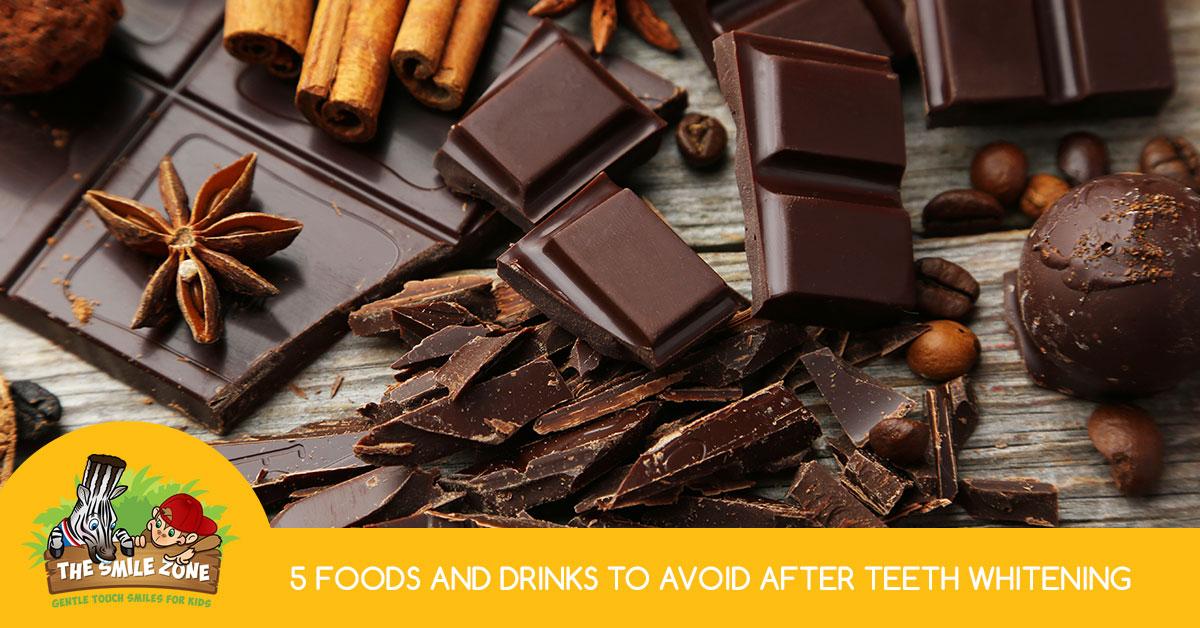 whitening avoid teeth drinks foods gentle