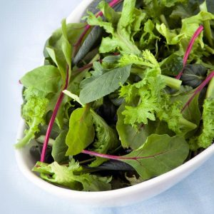 How To Stop Bleeding Gums - Leafy Greens