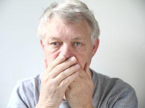 common dental issues for seniors - bad breath